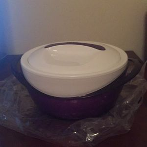 Never Used-One Thermal Hot/Cold Serving Bowl w/Lid